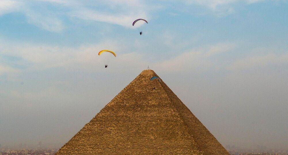 مهرجان الشباب للرياضات الجوية في مصر