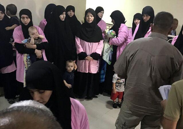 النساء الروسيات المحكوم عليهن المؤبد في العراق