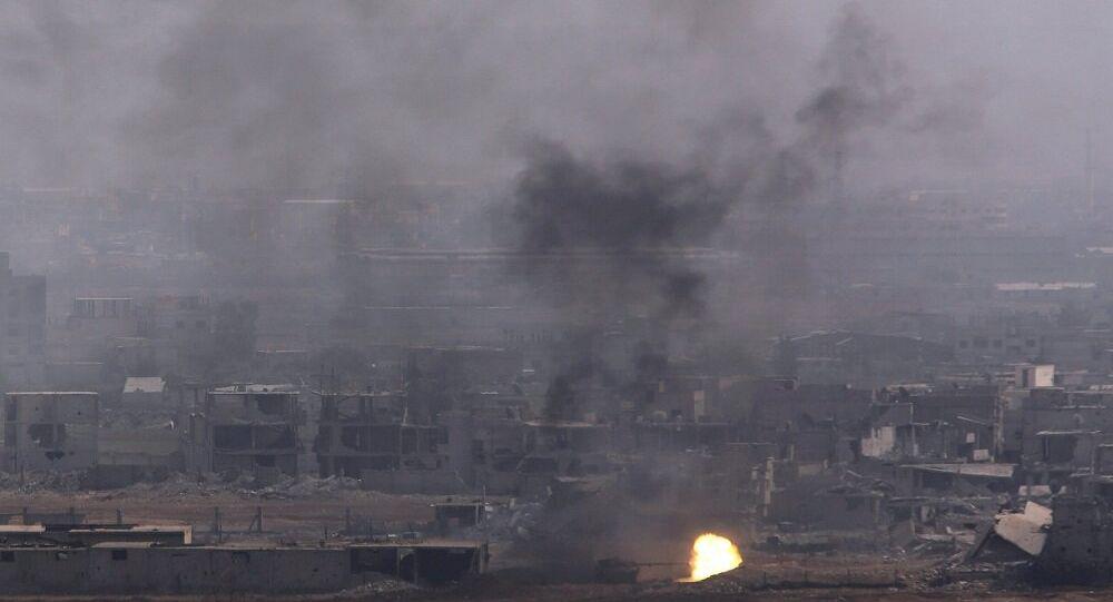قصف على سوريا