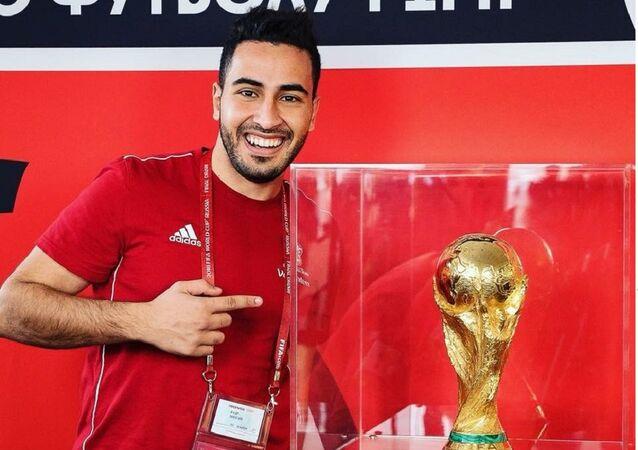 المتطوع المصري حسام طه