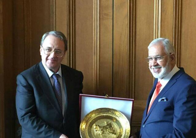 وزير خارجية حكومة الوفاق الوطني الليبة محمد طاهر السيالة