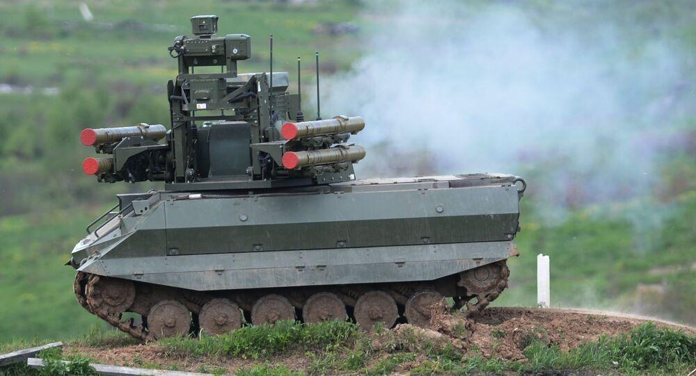 عربة أوران 9 الروبوتية القتالية