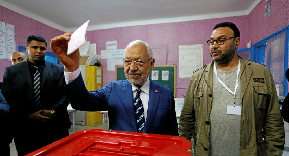 راشد الغنوشي - انتخابات تونس