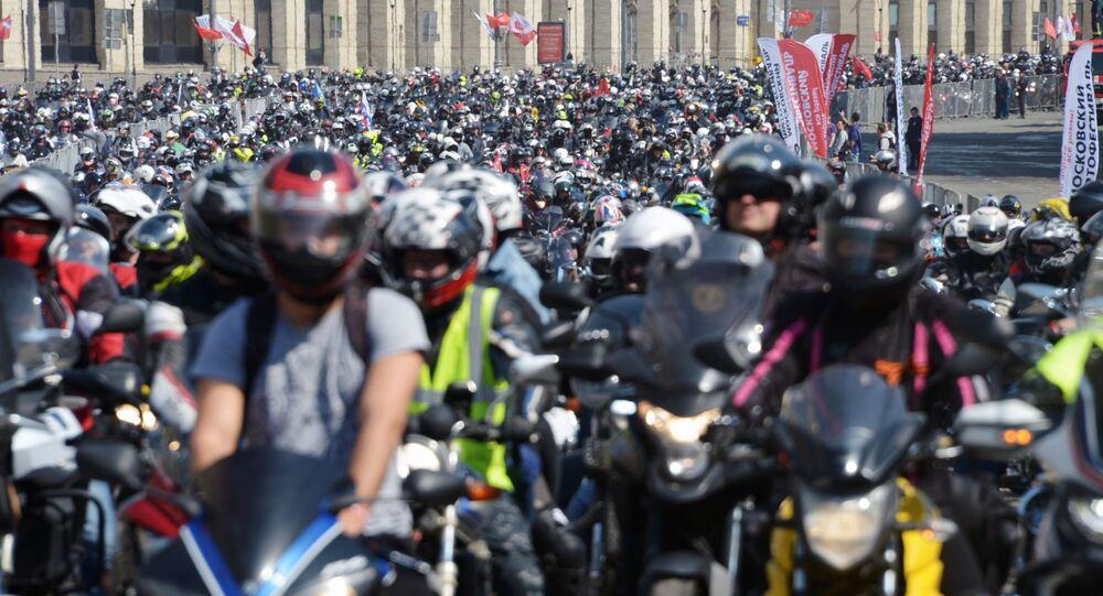 مهرجان موسكو لركوب الدراجات النارية - 2018
