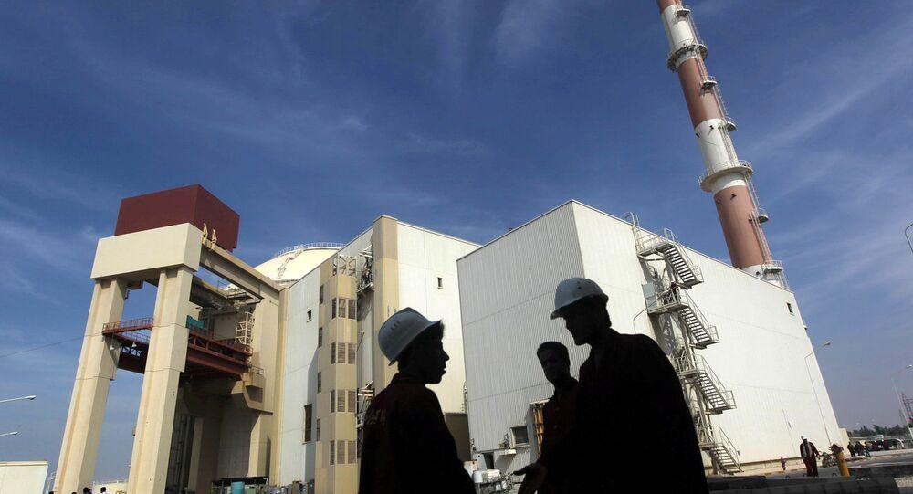 محطة بوشهر النووية الإيرانية