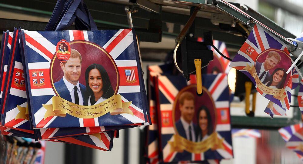 الاستعدادات في بريطانيا لإقامة الزفاف الملكي بين الأمير هاري وميغان ماركل في يوم 19 مايو/أيار 2018
