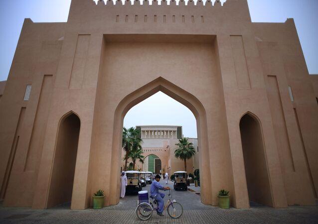 مدخل إلى حي كتارا (Katara) الثقافي والتراثي في الدوحة