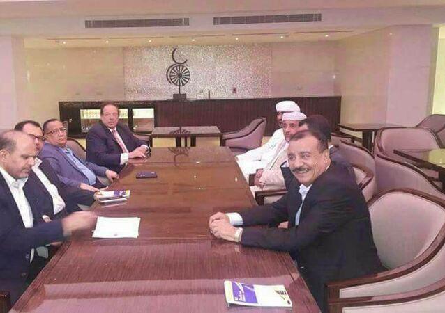 قادة بالمجلس الانتقالي الجنوبي والرئيس السابق لجنوب اليمن