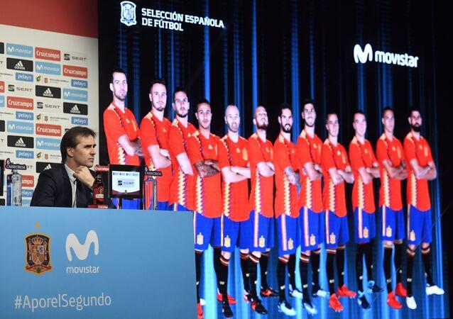 مدرب المنتخب الإسباني لكرة القدم، جولين لوبيتيجي