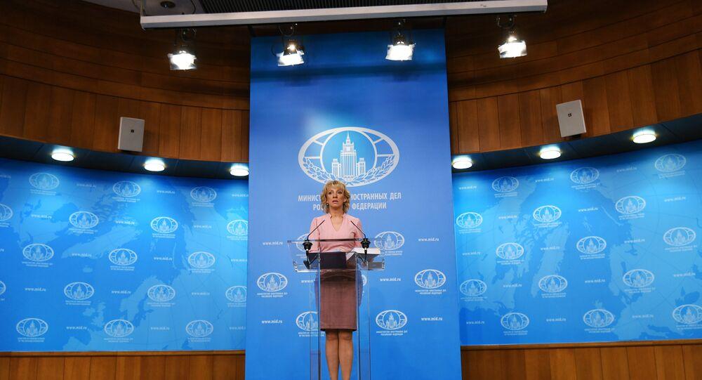 المتحدثة الرسمية باسم الخارجية الروسية ماريا زاخاروفا