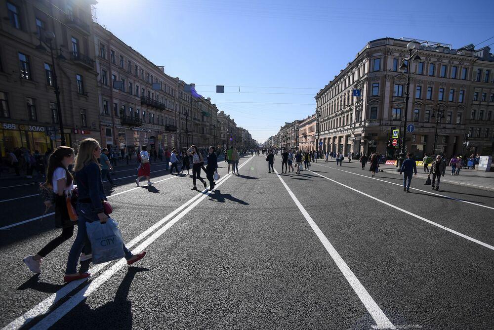 شارع نيفسكي للمشاة