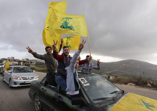 أنصار حزب الله اللبناني في مرجعيون