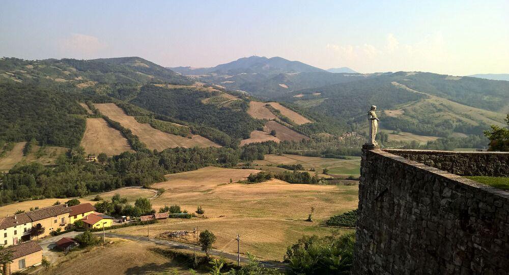 قلعة كاستيلو بورغو دي فيغولينو، إميليا رومانيا، إيطاليا