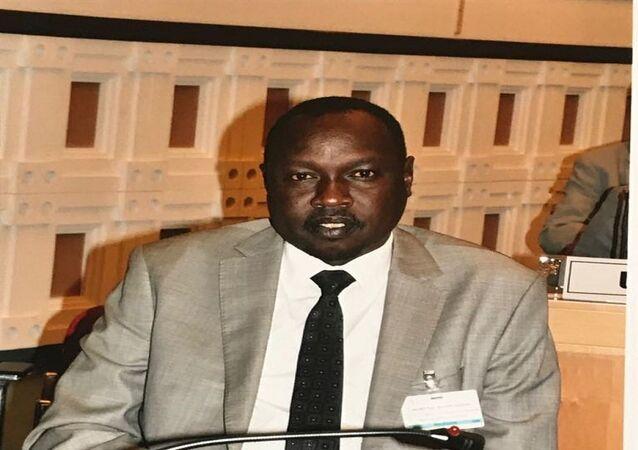 مناواء بيترفاكوث المتحدث باسم الحركة الشعبية لتحرير السودان