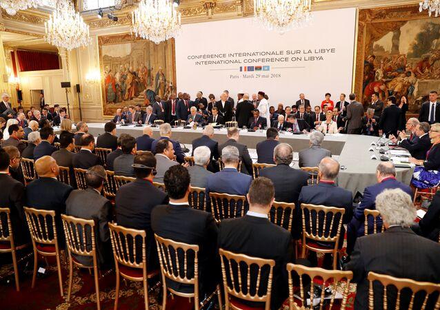 اجتماع باريس بشأن ليبيا