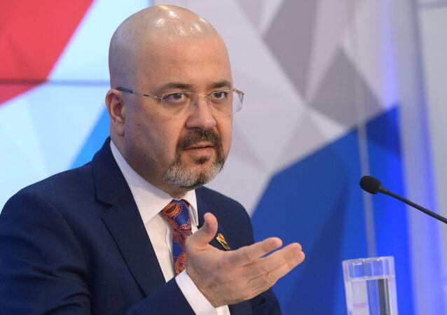 السفير العراقي لدى روسيا الاتحادية حيدر منصور هادي