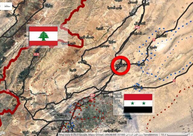 حاجز القطيفة في ريف دمشق