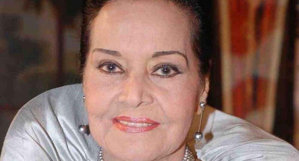 الممثلة المصرية مديحة يسري