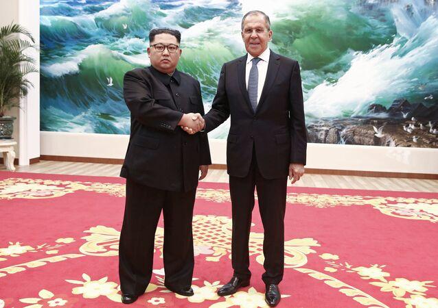 زيارة سيرغي لافروف إلى كوريا الشمالية (31 مايز/أيار)