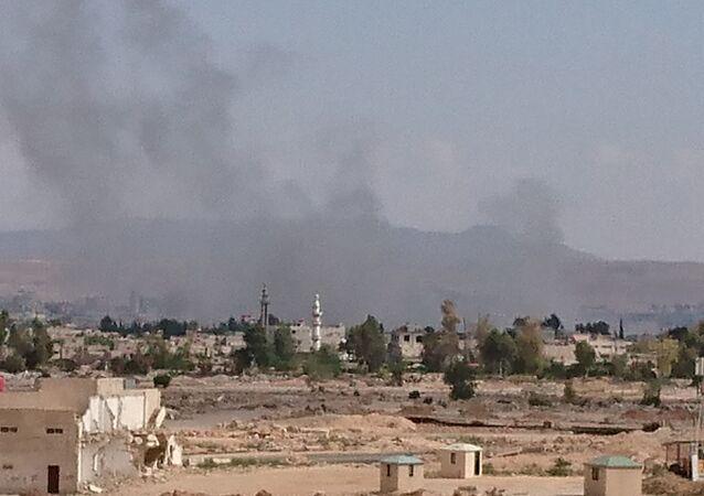 تفجير أنفاق جنوب دمشق