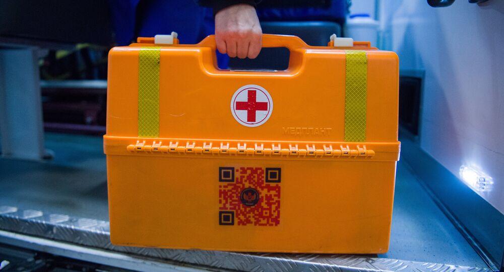 صندوق إسعافات أولية