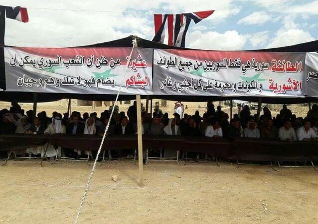 مؤتمر العشائر السورية العراقية في ريف حلب