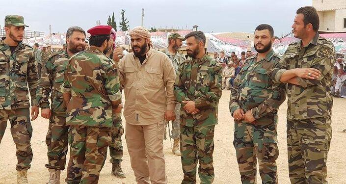 قيادي في المقاومة الشعبية السورية