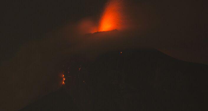 ثوران بركان فويغو في غواتيمالا، 3 يونيو/ حزيران 2018