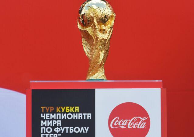 كأس العالم لكرة القدم في حديقة بارك غوركوغو في موسكو