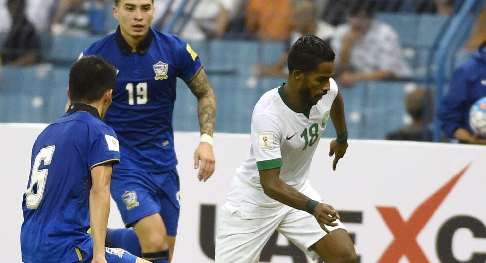 نواف العابد لاعب المنتخب السعودي