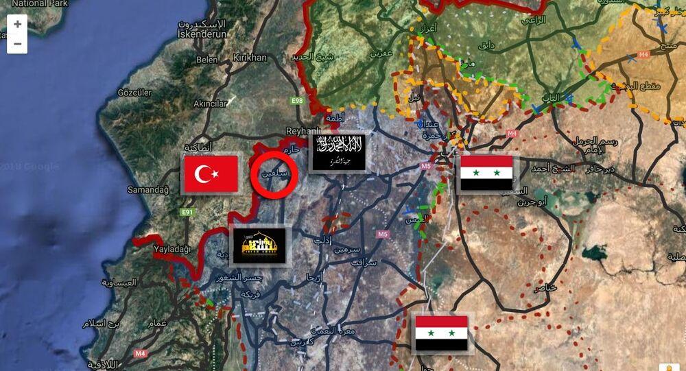توزع مسلحي إدلب وريفها
