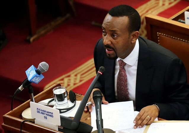 رئيس وزراء إثيوبيا أبي أحمد
