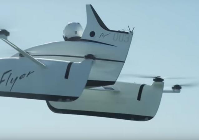 سيارة طائرة جديدة من غوغل