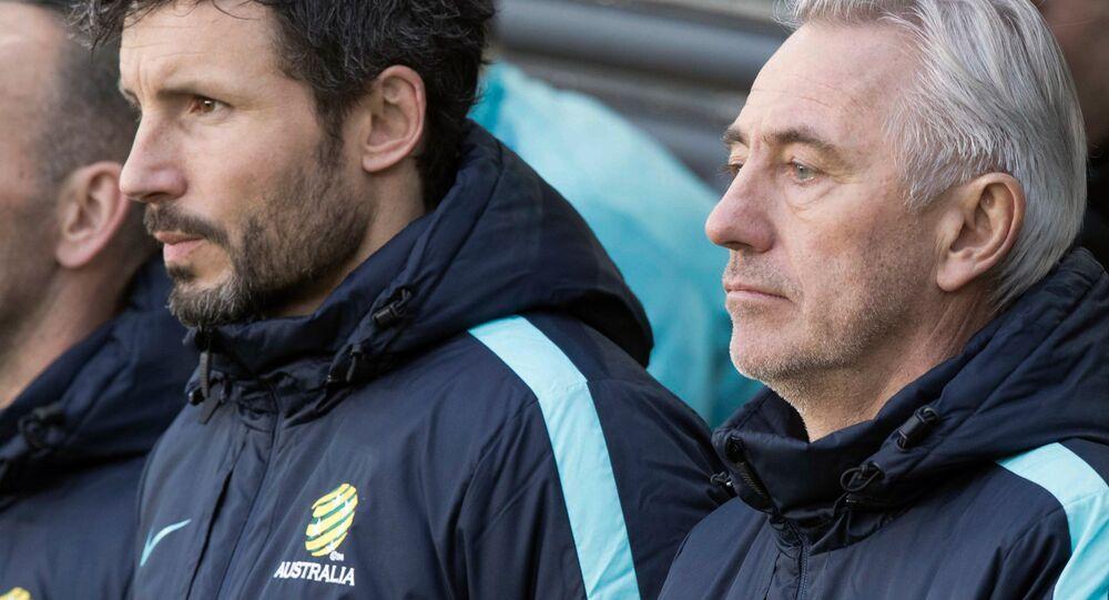 الهولندي بيرت فان مارفيك مدرب المنتخب الإسترالي