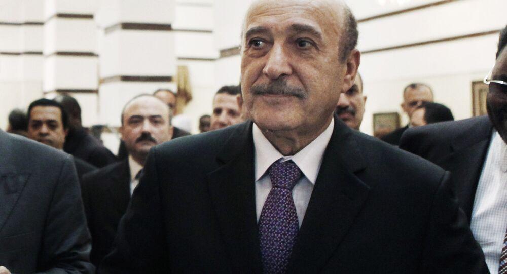 رئيس المخابرات المصرية الأسبق اللواء عمر سليمان