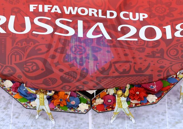مراسم افتتاح كأس العالم لكرة القدم في روسيا