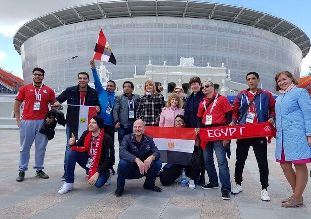 مشجعو المنتخب المصري