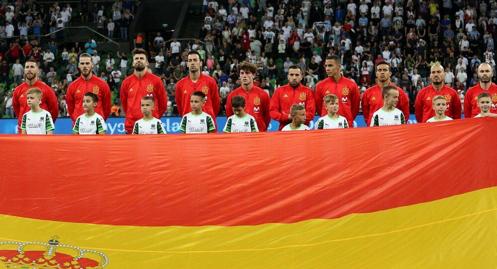 منتخب إسبانيا، كأس العالم، روسيا