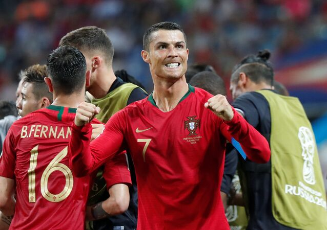 مباراة إسبانيا والبرتغال - كريستيانو رونالدو