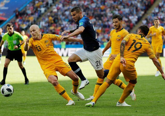 مباراة فرنسا وأستراليا في كأس العالم