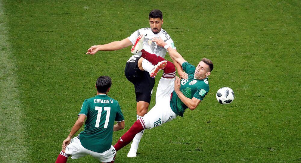 مباراة ألمانيا والمكسيك