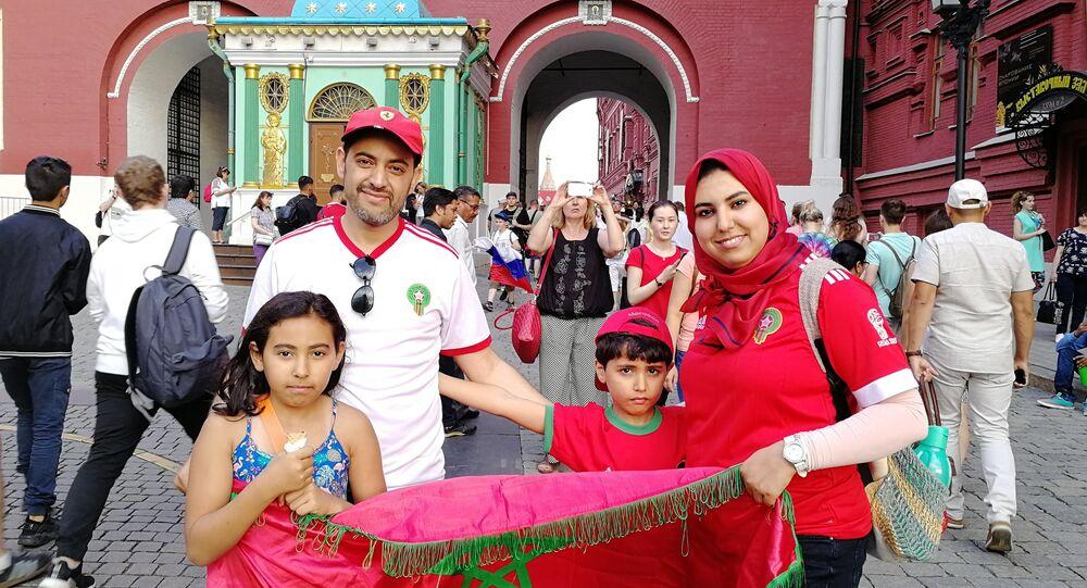 مشجعو المنتخب المغربي في موسكو