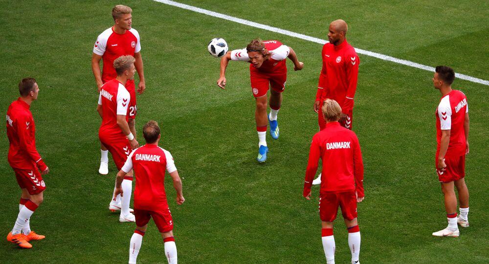 لاعبو منتخب الدنمارك