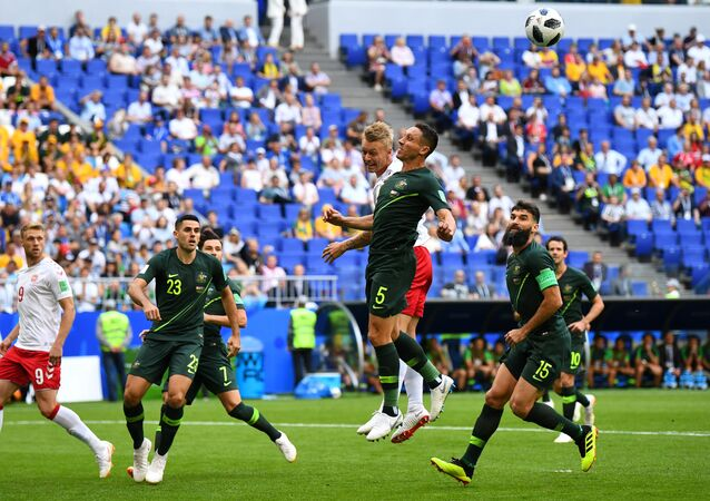 مباراة الدنمارك وأستراليا