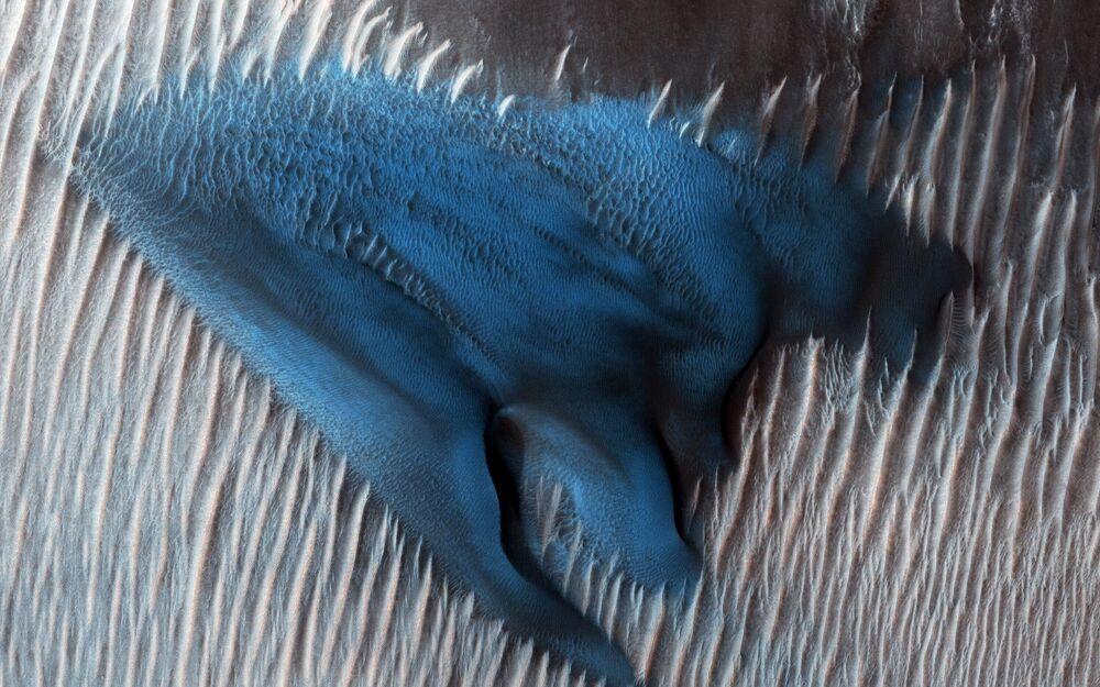 كثبان رملية على المريخ
