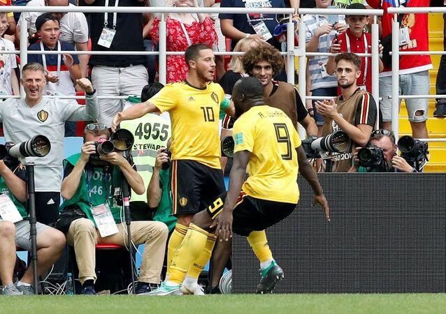 مباراة بلجيكا وتونس في كأس العالم روسيا 2018
