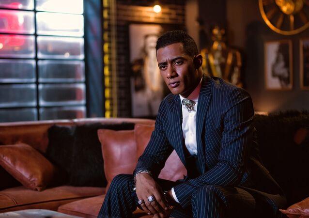 الممثل المصري محمد رمضان في أغنية نمبر وان
