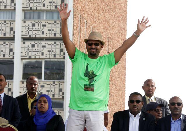 رئيس وزراء إثيوبيا آبي أحمد