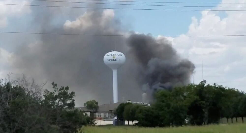 انفجار مستشفى في تكساس