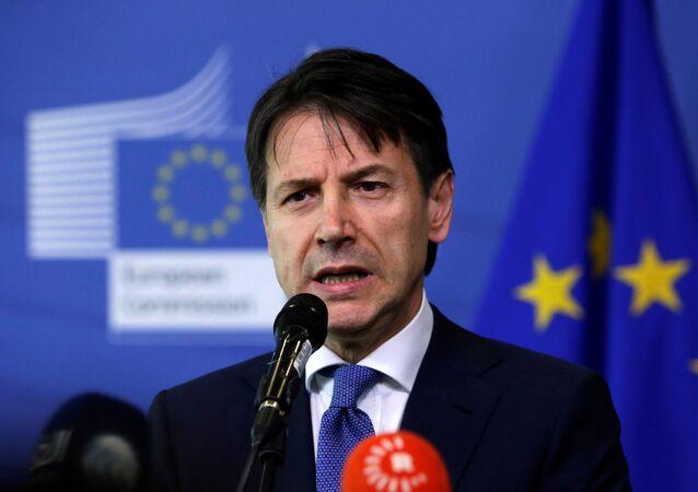 رئيس الوزراء الإيطالي جوزيبي كونتي